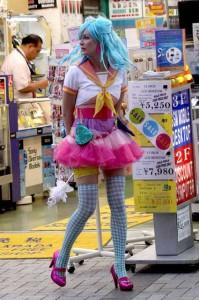 Kirsten Dunst Cosplays in Tokyo