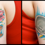 Petunias-and-Whale-Tattoo
