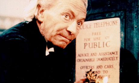 William Hartnell como Doctor Who, em 1963