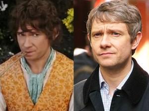 Martin Freeman, Bilbo mais novo