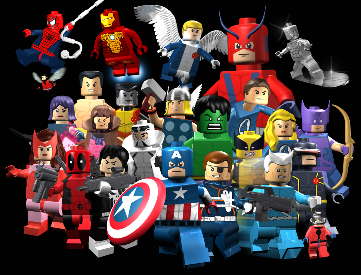 Lego marvel super heroes no final deste ano
