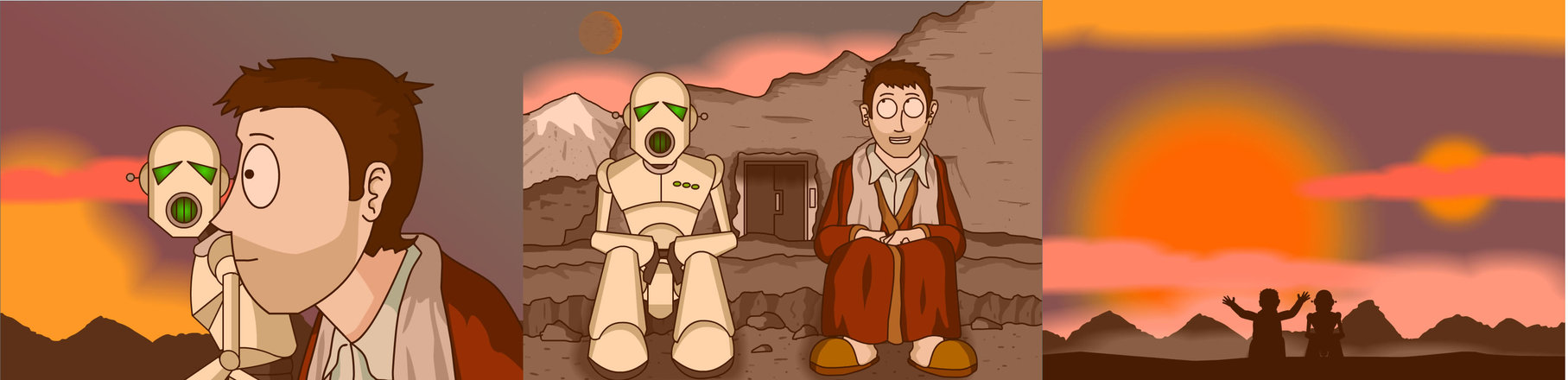arthur_dent_and_marvin_by_nick_of_the_dead-d67bfs3