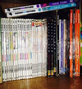 Alguns dos meus mangás ^^