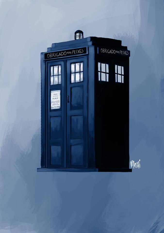 TARDIS feita para o OPP \o/