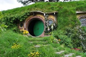 Entrada da casa de Bilbo