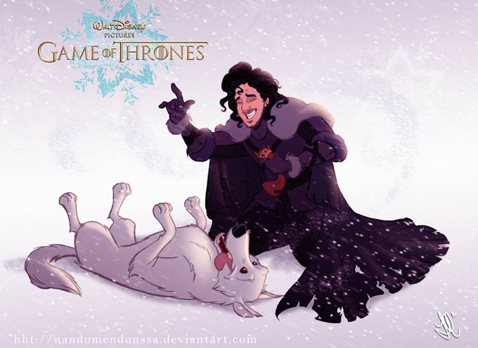 If-Game-Of-Thrones-Was-A-Disney-Animated-Movie-1