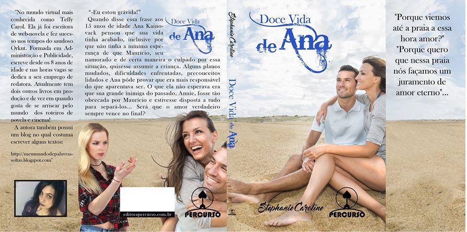 Capa do livro da autora.