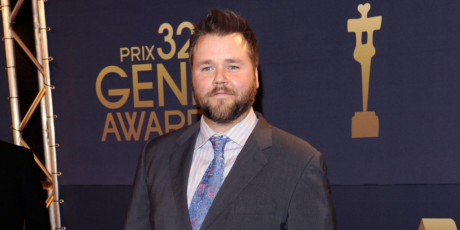 Tyler Labine The 32nd Annual Genie Awards Arrival at the Westin Harbour Castle. Toronto, Canada - 08.03.12 Mandatory Credit:Dominic Chan/ WENN.com